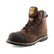 B301 SB P HRO SRC Chocolate Oil Leather Goodyear Welted Safety Lace Boot Thumbnail