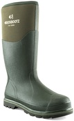 BBZ5020 Non-Safety Green Neoprene/Rubber Wellington Boot