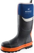 BBZ6000 S5 Blue/Orange  Neoprene/Rubber Heat and Cold Insulated Safety Wellington Boot