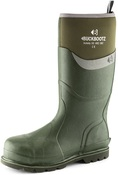 BBZ6000 S5 Green Neoprene/Rubber Heat and Cold Insulated Safety Wellington Boot
