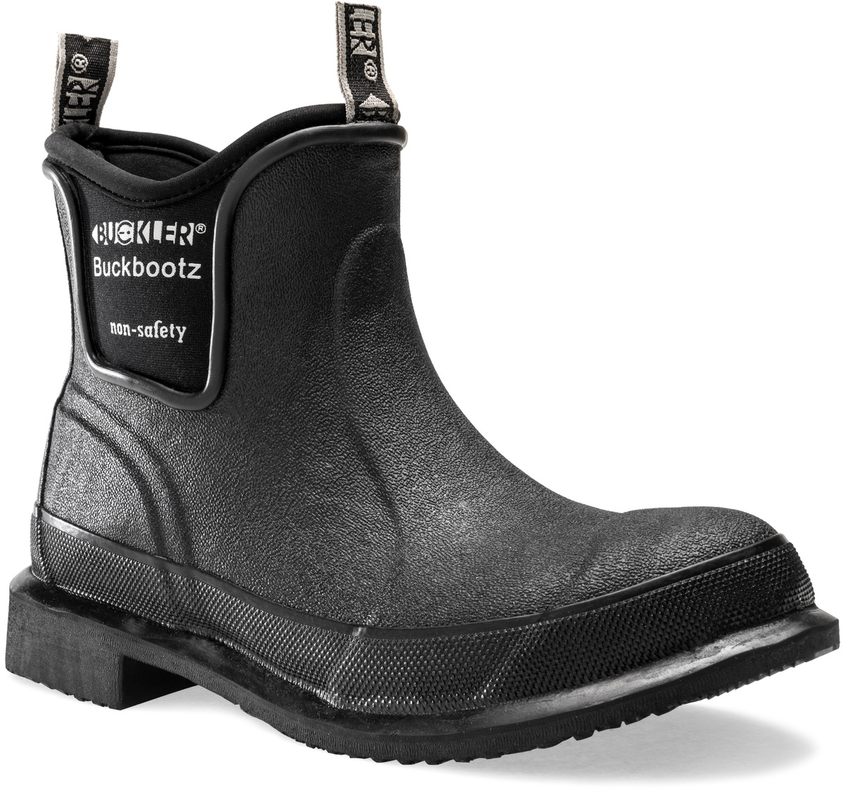 3053ce0dc39 Non-Safety Ankle Boot - Non-Safety Buckbootz - Neoprene/Rubber Non ...