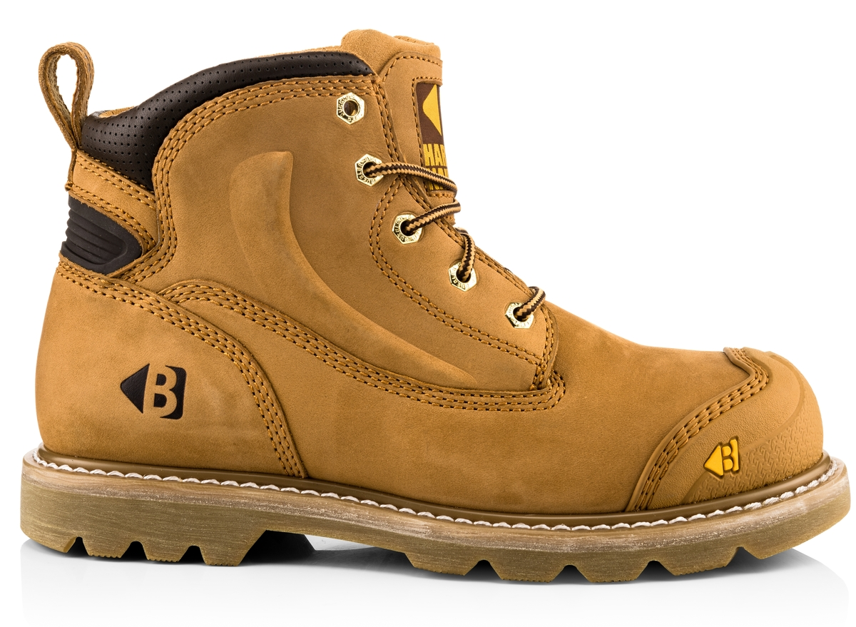 462e91bcd04 Safety Lace Boot - Goodyear Welted Safety - Lace Boots - Buckler Boots