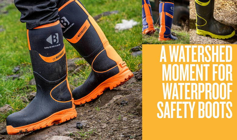 The next generation of safety wellingtons